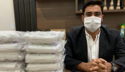 Carcará Imóveis está doando 1.000 máscaras, veja como retirar a sua em Fátima do Sul
