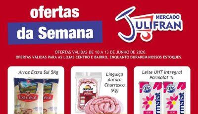 CONFIRA: Hoje tem QUARTA VERDE e OFERTAS DA SEMANA no Mercado Julifran em Fátima do Sul