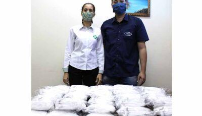 Hospital da SIAS recebe doação de Máscaras do Rotary Club de Fátima do Sul