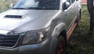 DESAPARECIDO: Hilux de Ex-Morador de Glória de Dourados é encontrada no Paraguai