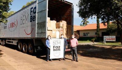 Solidariedade: Doação da JBS chega a Caarapó