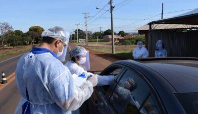 Barreira sanitária será realizada durante o 'feriadão' para conter avanço da Covid-19 em Vicentina
