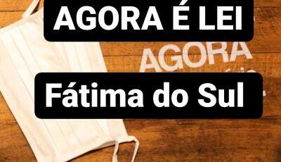 Multa será de até R$ 1.466 reais para infectado com Covid-19 descumprir quarentena em Fátima do Sul