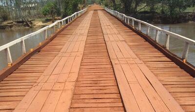 Governo estadual abre licitação para ponte de concreto no Rio Dourados entre Dourados e Deodápolis