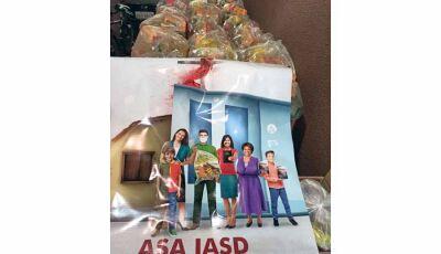 Assistência Social Adventista distribui duas toneladas de alimentos  em Vicentina