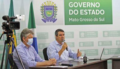 Governo cria plano de segurança para evitar lockdown em Mato Grosso do Sul
