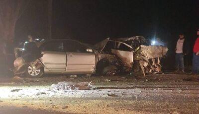 Confirmada 2ª vítima fatal de acidente entre Corolla e Uno em Vicentina