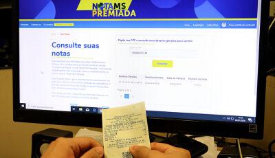 Fátima do Sul e Deodápolis teve ganhador do Nota MS Premiada; VEJA a tabela dos ganhadores e confira