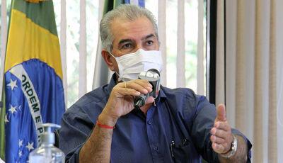 """""""MS vai ser o primeiro do país a universalizar o saneamento"""", diz Reinaldo Azambuja"""