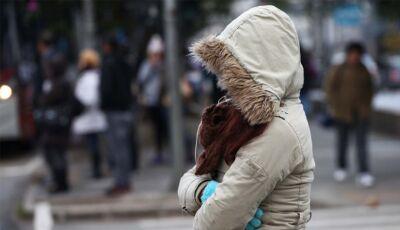Sábado e domingo 'gelado' com mínimas de 8°C com condição para geadas generalizadas