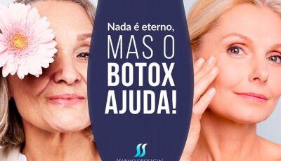 Ruguinhas começaram a aparecer e auto-estima cair?, Botox ajuda agora em Fátima do Sul e Vicentina
