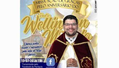Comunidade de Fátima do Sul celebra aniversário do Pe. Wellington Macedo