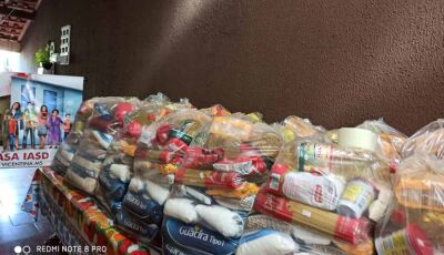 Assistência Social Adventista de Vicentina distribuiu mais de 2 toneladas de alimentos