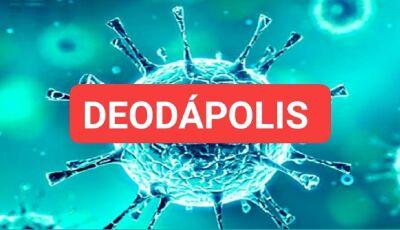 ALERTA: Mais 06 casos confirmados de covid-19, confira o mapeamento dos casos em Deodápolis
