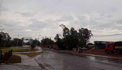 Semana começa com chuva e oscilação de temperatura, entre 8ºC e 34ºC em Fátima do Sul