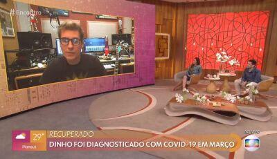 Dinho Ouro Preto revela sequelas após covid-19, ele já teve gripe suína e dengue