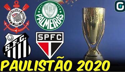 Paulistão 2020 retorna hoje e com clássico Corinthians e Palmeiras