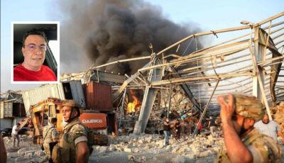 Libanês se emociona e diz: Parecia uma bomba atômica, que acabou com tudo