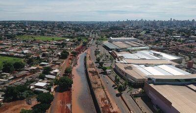 Região mais populosa da Capital, Anhanduizinho evoluiu com obras e ações estaduais