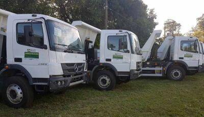 Fátima do Sul, Glória e Deodápolis receberão caminhões para conservação de estradas 5ª feira
