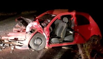 Motorista bate em trator e morre prensado na rodovia do MS