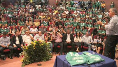 Governador anuncia prorrogação do Bolsa Atleta e Bolsa Técnico