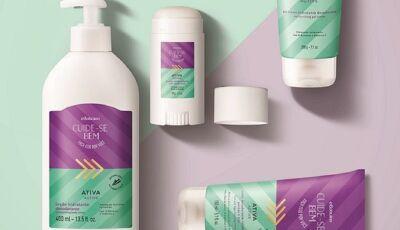 Linha de cuidados pessoais do Boticário traz produtos com Vitamina E e D-Pantenol, confira aqui