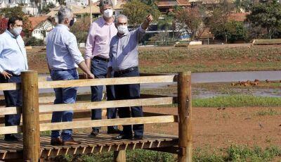 Governador Reinaldo visita Parque das Nações Indígenas e acompanha processo de revitalização
