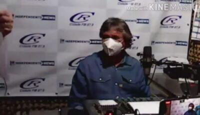 Ao vivo, prefeito 'brinca' com morte por coronavírus da vice de cidade vizinha em MS
