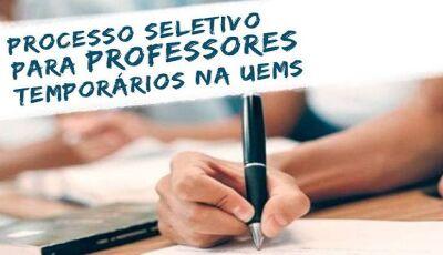 Inscrições abertas para a seleção de professores temporários, Confira o Edital