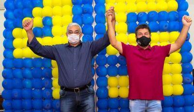 Em convenção, PSDB confirma Professor Marcos com vice Claudemir da Pax em Glória de Dourados