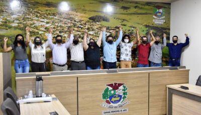PDT oficializa em convenção, Denílson para prefeito e Erculano vice como candidatos em Jateí