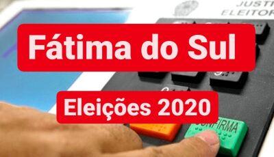 Confira os nomes dos 74 candidatos a vereadores e números de cada um em Fátima do Sul