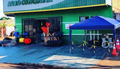 Veja as FOTOS da inauguração da AGRO CONQUISTA em Fátima do Sul