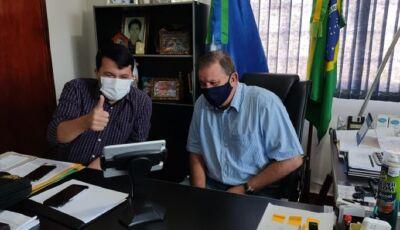 Deputado Eduardo Rocha 'leva' Assembleia Legislativa de MS para o município de Vicentina