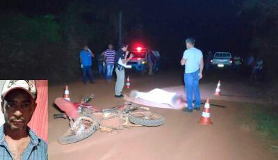 Homem morre após acidente envolvendo moto e camionete em Deodápolis
