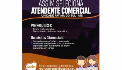 Empresa de telefonia Assim Telecom abre vaga de emprego em Fátima do Sul