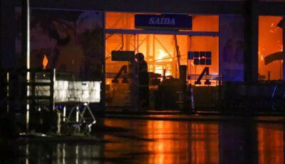 FOGO NO ATACADÃO: Incendiado custou R$ 34 milhões e emprega 287
