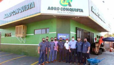 Em Fátima do Sul Agro Conquista já é uma realidade