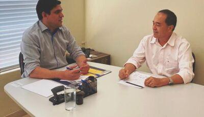 Candidato do MDB tem apoio e participação de ex-prefeito Junior Vasconcelos em Fátima do Sul