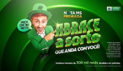 Nota MS Premiada teve 374 ganhadores; 08 acertaram as seis dezenas e receberão R$ 12,5 mil