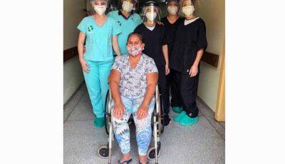 Com 21 casos ativos, SIAS agradece a Deus pela recuperação de mais uma paciente em Fátima do Sul