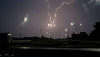 Fátima do Sul e mais 42 cidades em alerta de temporal com ventos de até 60 km/h