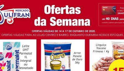 Confira as OFERTAS DA SEMANA do Mercado Julifran em Fátima do Sul
