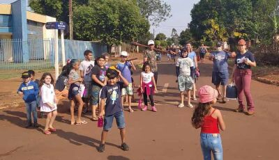 IASD de Fátima do Sul incentiva crianças ao plantio de árvores frutíferas no Jardim Brasilândia