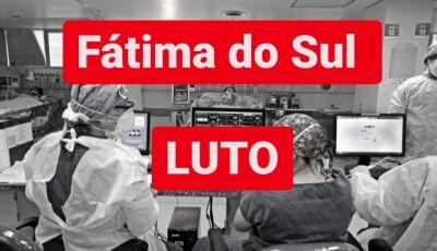 Idosa é a 12ª morte por covid, mais 05 confirmados e 48 em análise nas últimas 24h em Fátima do Sul