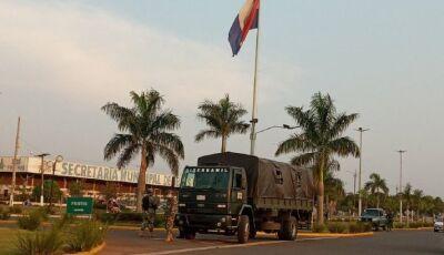 Exército volta fechar fronteira do Paraguai com MS