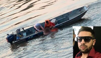 Bombeiros encontram corpo de jovem de 23 anos desaparecido no rio Ivinhema