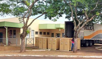 Naviraí recebeu as 18 máquinas da MRM para o Centro de Hemodiálise