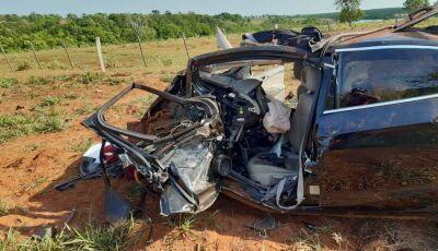 Identificadas as duas pessoas que morreram no grave acidente ocorrido em Nova Andradina